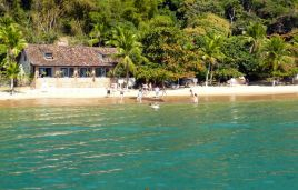 Beaches at the bay of Paraty