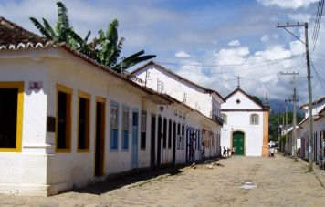 Paraty's old town