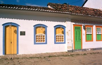 Houses in the old town of Paraty