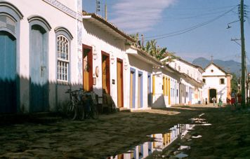 Paraty's historic center
