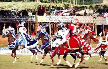 Cavalhadas in Pirenópolis