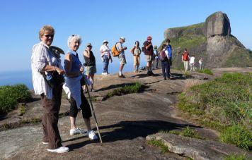 Hiking to the top of Pedra Bonita