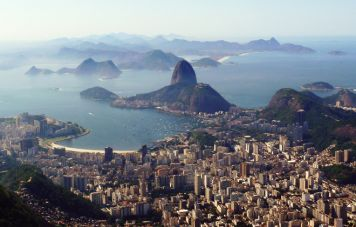 The Sugar Loaf seen from the Corcovado mountain