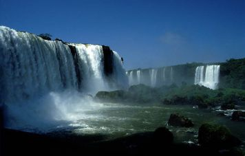 The Iguaçu waterfalls