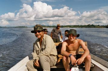 Peter Rohmer and his Rio Negro research team
