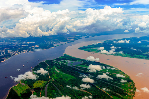 The Amazonas confluence
