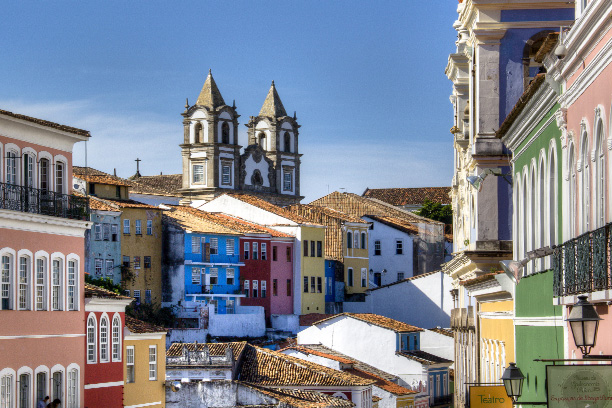 Salvador's old town