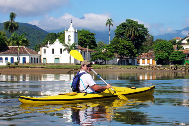Kayaking tour in Paraty brazil