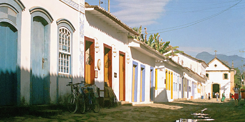 The old town of Paraty, colonial gem of the Green Coast