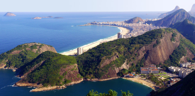 Copacabana seen from the Sugar Loaf
