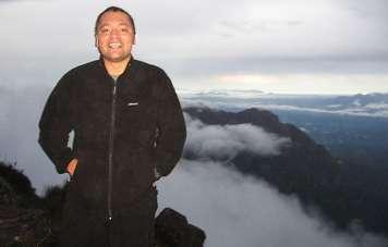 On the top of Pico da Neblina