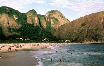 Niterói's beach of Itacoatiara