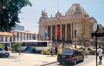 Palácio Tiradentes, the former Brazilian parliament