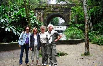 Group at Sítio Burle Marx
