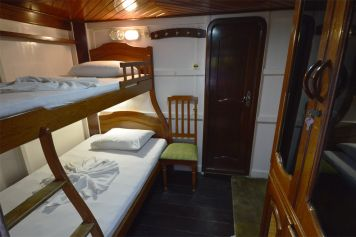 One of our river boat's cabin
