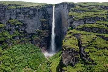 Cachoeira da Fumaça waterfall