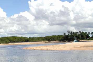 Beach at Ponta de Corumbaú